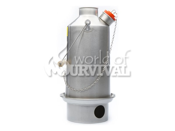 Image for Kelly Kettle Base Camp Model Stainless (1.5 ltr, 2.6 UK pints)